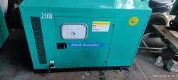 tata 25 Kva Used soundproof Diesel Generator