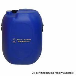 Blue UN APPROVED HDPE 50 LTR ROCKET CAN, Capacity: 0-50 litres, Packaging Type: For Export Chemicals