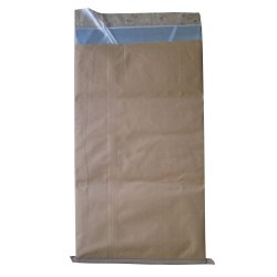 Metallized Film Packaging Kraft Paper Laminated HDPE Woven Bag