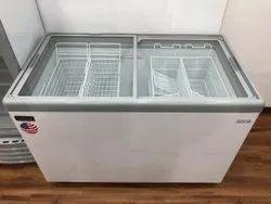 Sliding Lid Flat Glass Top Freezer Celfrost-IKG 311