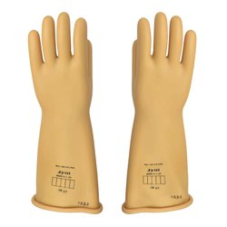 Electrical Gloves 11 Kva And 33 Kva