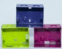 Kisaan Square & Rectangular 4x3 Modular Electrical Box