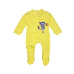 100% Cotton Full Sleeve Baby Rompers For Unisex