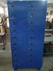 Inbuilt Lock Steel Laptop Locker, For Office, No Of Lockers: 24