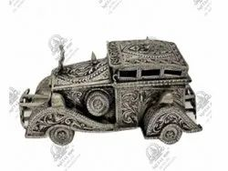 Car Polished Silver Plated Artifacts