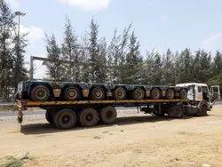 Hydraulic Axle Trailer Transportation Service