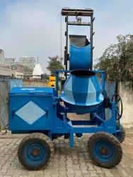 2 Pole Lift Mixer Machine