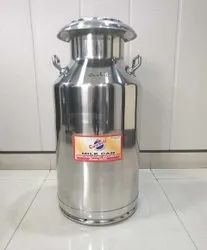 50 Ltr Stainless Steel Milk Can