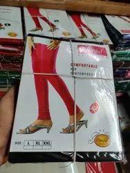 95% Cotton 5% Lycra Plain Pranjul Churidar Leggings