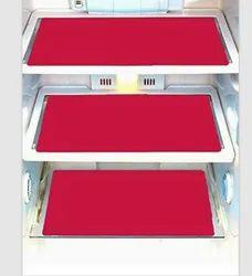 PINK COLOR PVC FRIDGE MAT