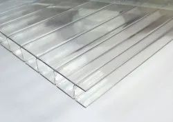 Transparent Polycarbonate Sheet, Thickness 6mm
