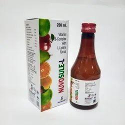 Vitamin B- Complex With L-Lysine Syrup
