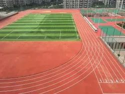 Synthetic Athlete Track Flooring
