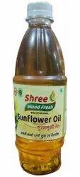 Liquid 500mL Cold Pressed Sunflower Oil, Packaging Type: Bottle