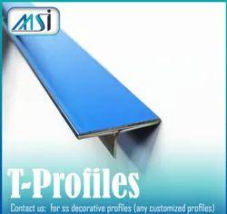 MSI Brand SS304 T Profile Patti