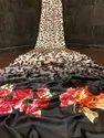 Soft Silk And Digital Print Saree