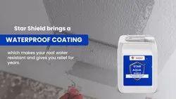 Starshield白色弹性防水涂料对于Roof-星水族盾,混凝土/屋面,包装规格:5L,20L