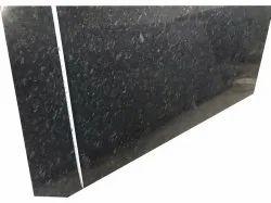 Black Steel Grey Granite Slabs, For Flooring, Thickness: 15mm