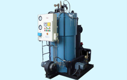 Oil & Gas Fired 800 kg/hr Coil Type Steam Boiler