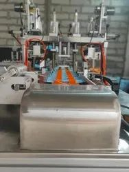 Surgical 3 ply face mask making machine