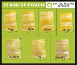 Kraft Paper Standup Zipper Pouch