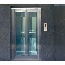 KNSP Auto Door Hydraulic Elevators Cabin, Max Persons: 6 Persons, With Machine Room
