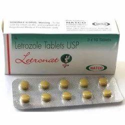 Letronat Letrozole2.5mg Tablets
