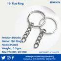 Flat Key Chain