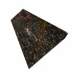 Polished Slab Brazil Brown Granite, For Flooring, Thickness: 18mm