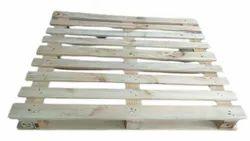 Rectangular 2 Way Pinewood European Pallet, For Shipping, Capacity: 1 Ton