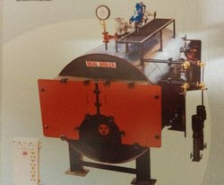 Wood Fired 1000-2000 kg/hr Fully Wetback Package Boiler