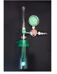 Medical  Oxygen Regulator With Rotameter And Humidifier