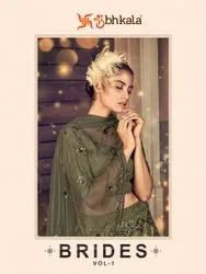Bridal Wear Embroidery Shubhkala  Brides Vol 1 Presents By Lehenga Choli