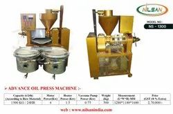 Commercial Oil Expeller Machine, Capacity: 1.3 Ton/Day