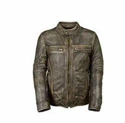 Classic Vintage Men's Leather Jacket