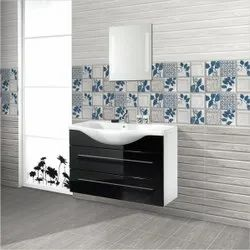 Multicolor Ceramic Decorative Bathroom Wall Tiles, Thickness: 6 - 8 mm, Size: 300mm X 450mm