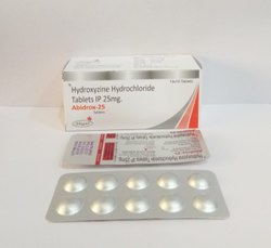 Hydroxyzine Hydrochloride 25 Mg Tablet