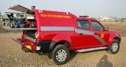 Red Quick Response Vehicle (QRV) / Rapid Intervention Vehicle (riv)