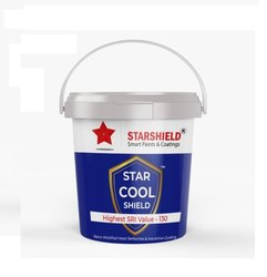 Heat Reflective And Insulated Roof Coating- Star Cool Shield