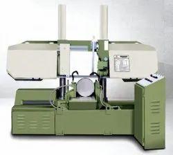 Double Column Semi Automatic Hydraulic Bandsaw Machine