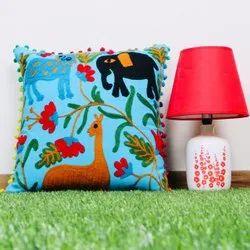 Embroidered Suzani Cushion Cover