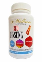 Red Ginseng Capsule, Packaging Type: Plastic Bottle