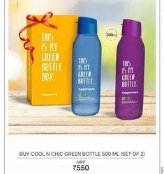 Eco Friendly Bottle Set Of 2, Size: 750ml