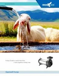 2HP AC Solar Openwell Submersible Pump