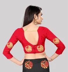 Casual Wear Plain saree, With blouse piece, 5.5 m (separate blouse piece)
