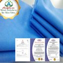 White Blue Polypropylene SSMMS Non Woven Fabrics