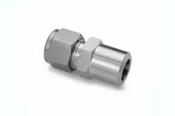 Stainless Steel Double Ferrule Male Pipe Weld Connector