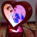 A1- Revolving LED Heart Lamp