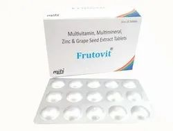Multivitamin, Multimineral, Zinc and Grape seed Extract