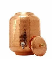 Copper Hammered Tank